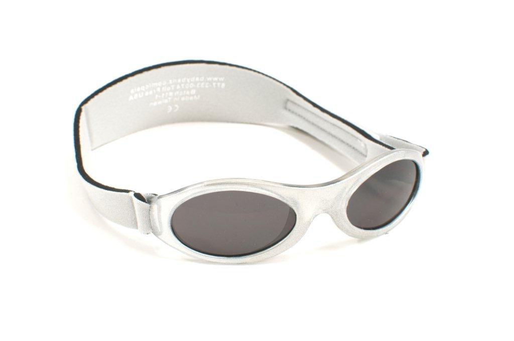 Kidz Adventurer Banz-Occhiali da sole, 2-5 anni, colore: argento Baby Banz ABK SL