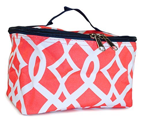 NGIL Geometric Makeup Bag - Purse N Small Organizer