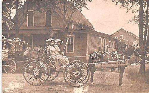 - Carriage Ride Nappanee, Indiana postcard
