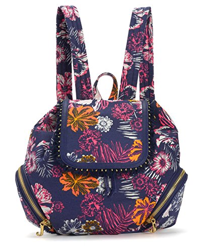 - Juicy Couture Bold Botanic Canvas Backpack, Multi