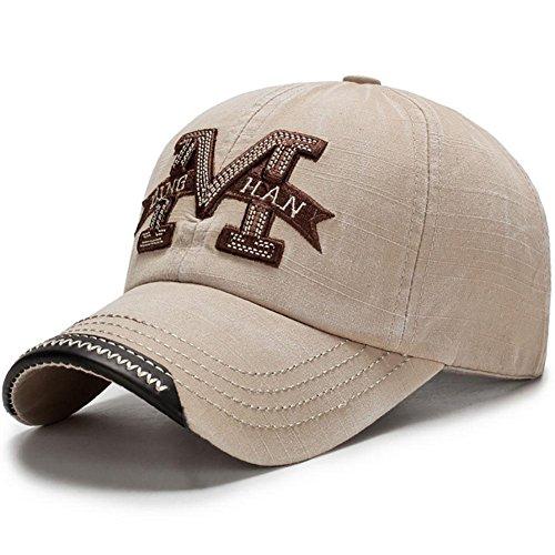 con 002 béisbol 100 MAOXZI Gorra de algodón Ajustable Sombrero xn8qEX4wEt