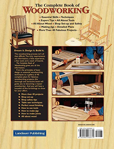 The Complete Book of Woodworking: Step-by-Step Guide to Essential Woodworking Skills, Techniques and - http://medicalbooks.filipinodoctors.org
