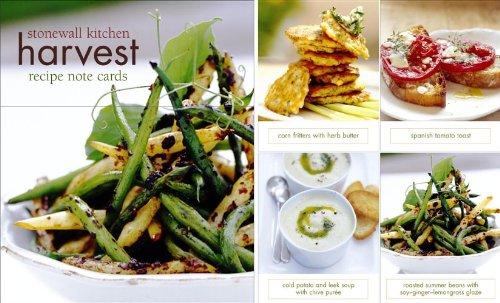 Stonewall Kitchen Harvest - Stonewall Kitchen Harvest Recipes Vertical Note Cards