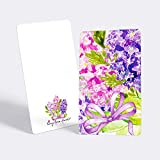 "Tiny Love Cards - Set of 85 Cute BLANK Mini Cards for Hand-Written notes - ANY Occasion - 2"" x 3.5"", Small Note Cards (Flowers: Lilac)"