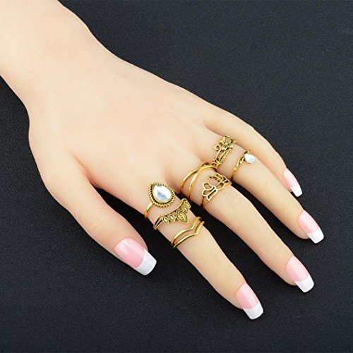 Gold Claw Set - 9