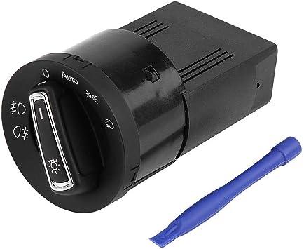 Fydun Scheinwerfer Kontrollschalter Auto Scheinwerfer Lampenschalter Lichtsensormodul Schwarz Für Oe Nummer 1c0941531 3bd941531 3bd941531a Auto