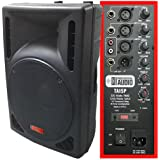 1200 Watt Powered DJ Speaker - 15-inch - Bi-Amp 2-Way Active Speaker System by Adkins Pro Audio - TA15P