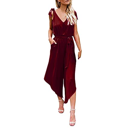 f07addaa8ef37 Amazon.com: YKARITIANNA Women Outfit Sleeveless Shoulder Bandage ...