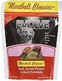 Evolve Meatball Classics Beef, Sweet Potato & Herb Formula Dog Treats, Small Review