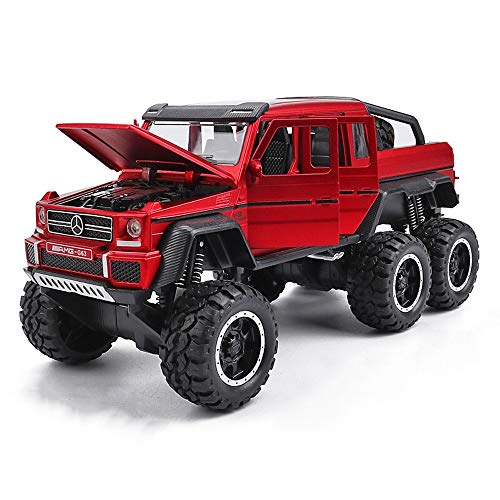 Kikioo Pull Back Monster Trucks High Speed Die-cast Buggy Functions Toy Cars Collectable Off-Road Car Opening Doors With Music & Light Pullback Action Detailed Interior Boys Girls Holiday Birthday Gif