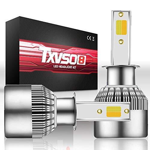 ZJP-dzsw LED High/Low Beam Headlight Conversion Kit Light Bulbs 32W 3600LM 6000K White H1/ H3/H7 General Purpose car Light (Style : H7)