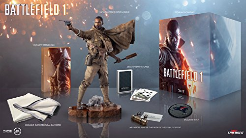 Battlefield 1 Exclusive Collector's Edition - Does Not Include Game (Resident Evil 4 Vs Resident Evil 5)