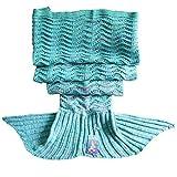 DDMY Mermaid Tail Blanket Crochet Mermaid