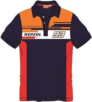 REPSOL HONDA RACING 2019 Marc Marquez #93 Polo para Hombre ...