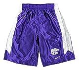 Nike NCAA Big Boys Youth Kansas State Wildcats Basketball Tourney Shorts, Purple