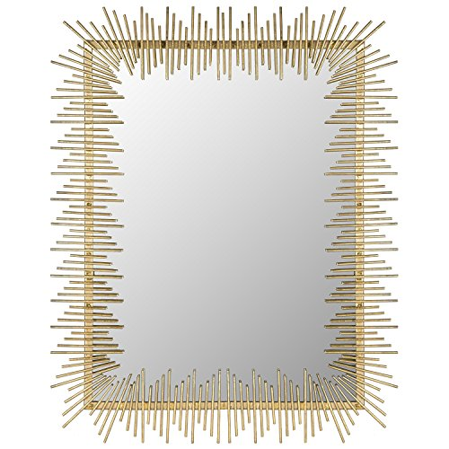 Safavieh Home Collection Sunray Mirror, Antique Gold ()
