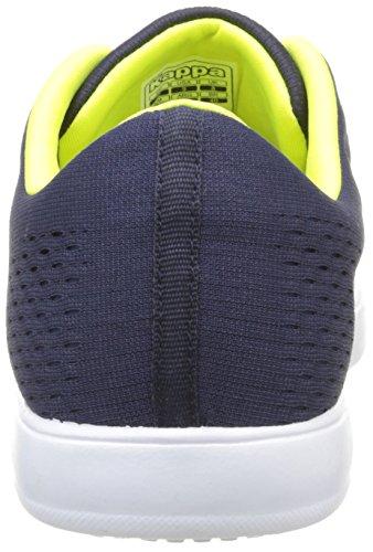 Kappa Dem - Zapatillas de deporte Hombre Azul - Bleu (Blue Navy/Green Lime)