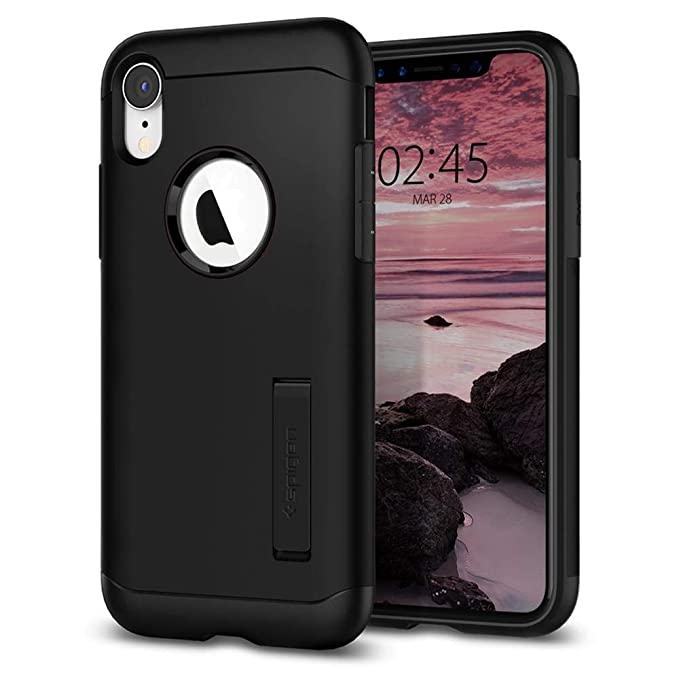 competitive price e07c5 42845 Spigen Slim Armor Case for The Apple iPhone XR - Black