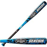 Wilson WTLIYBGN15027 Louisville Slugger Youth honkbalknuppel, 27 inch lengte, aluminiumlegering, blauw/zwart
