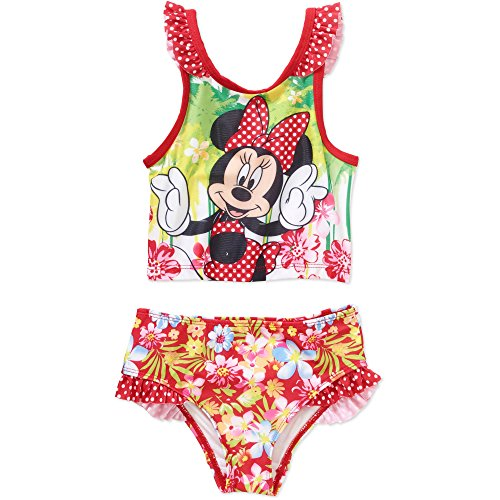 Disney Minnie Mouse Girls' 2- Piece Swim Suit (5T)