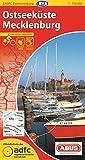 ADFC-Radtourenkarte 3 Ostseeküste Mecklenburg 1:150.000, reiß- und wetterfest, GPS-Tracks Download und Online-Begleitheft (ADFC-Radtourenkarte 1:150000)