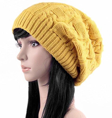 ile Knitted Cap Hat Bonnet Winter Knit Crochet Ski Hat (Crochet Ski Hat)