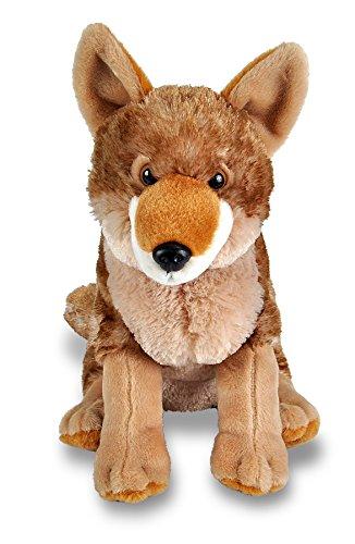 Wild Republic Coyote Plush, Stuffed Animal, Plush Toy, Gifts for Kids, Cuddlekins 12 (Coyote Plush)