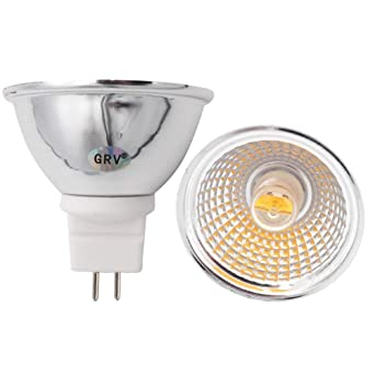 GRV MR16 Bombillas LED GU5.3 LED AC 220 V 5 W 50 W equivalente