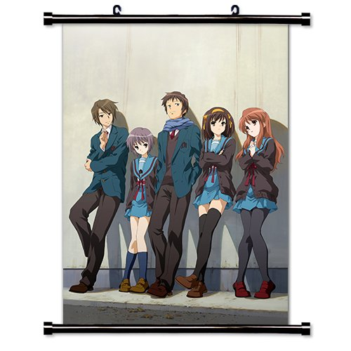 (The Melancholy of Haruhi Suzumiya Anime Fabric Wall Scroll Poster (32 x 43) Inches)