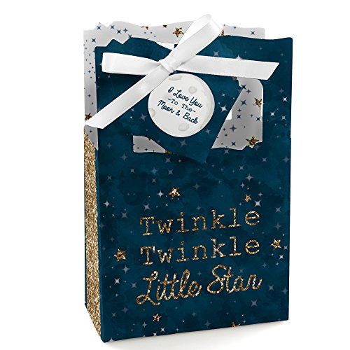(Twinkle Twinkle Little Star - Baby Shower or Birthday Party Favor Boxes - Set of 12)