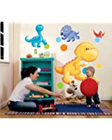 Birthday Express - Little Dino Giant Wall Decals