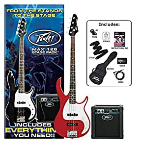 Peavey Electric Bass Guitar Pack Black