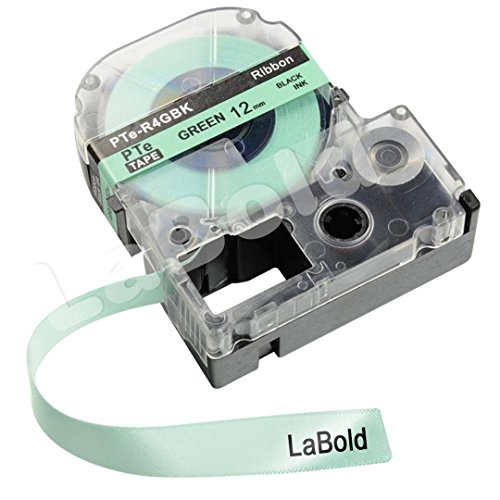 12 Mm Ribbon (LabelWorks Ribbon LC Cartridge, LaBold 2 Pack Ribbon Label Tape 1/2