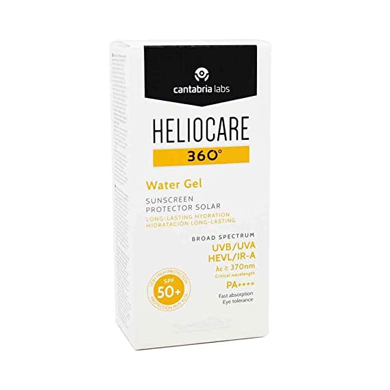 HELIOCARE 360 WATER GEL SPF 50+ 50 ML: Amazon.es: Belleza