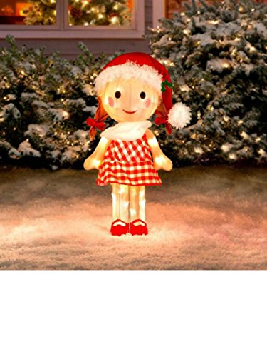 (Sally Doll Rudolph the Red Nosed Reindeer Misfit Toys Tinsel Yard Art)