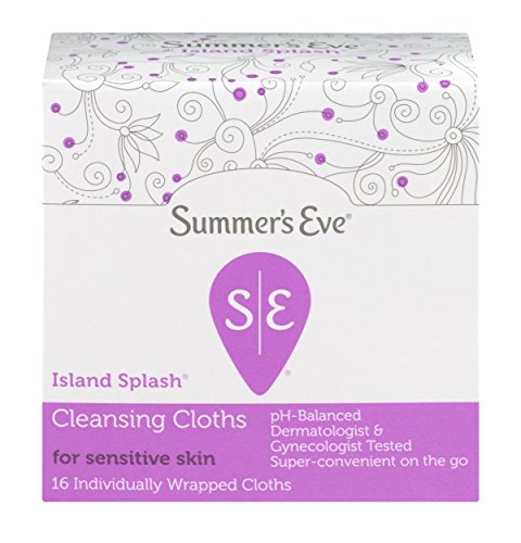 Summers Eve Soft Cloths (Summer's Eve Sensitive Skin Cleansing Cloths, Island Splash, 16 individually Cloths per Box, Case of 12 Boxes Total, PH Balanced, Gynecologist & Dermatologist Tested, Convenient On-The-Go Packages.)