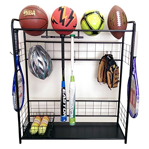 JJ International Sports Organizer Storage Rack