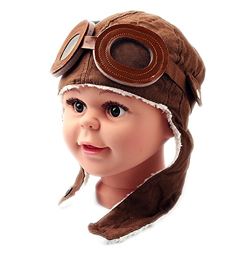 A Little Lemon Super Cool Baby Infant Kid Soft Warmer Winter Hat(coffee)