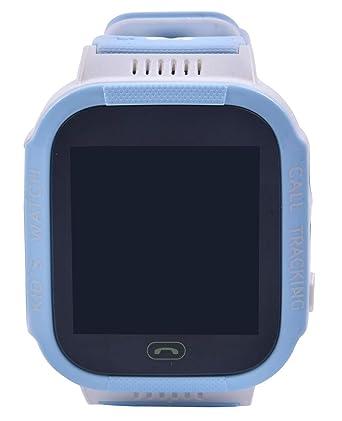 Aivtalk Reloj Inteligente para Niños con GPS Pantalla Táctil SOS Despertador Regalo de Cumpleaños: Amazon.es: Relojes