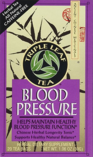 Triple Leaf Blood Pressure Tea Bags - 20 ct