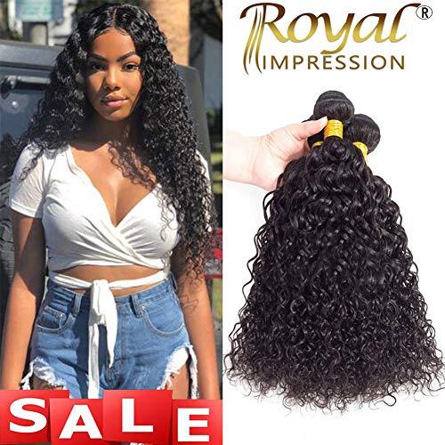 - 10A Brazilian Virgin Curly Hair Weave 3 Bundles Virgin Kinky Curly Human Hair Bundles 100% Unprocessed Brazilian Virgin Remy Hair Bundles Natural Color (12 14 16)