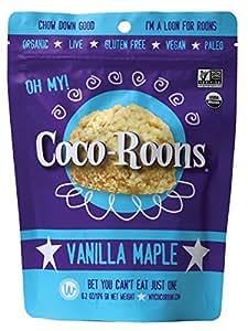 Wonderfully Raw Organic Vanilla Maple Coco-Roons, 6.2 Ounce