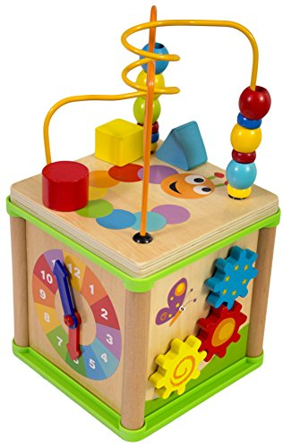 Playstation Toy - Activity Box Play Station Wooden Toy by Playdreams