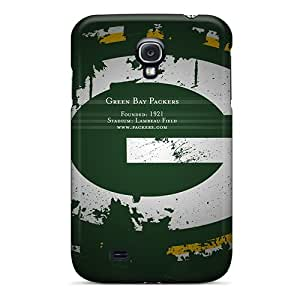 Durable Protector Cases Covers With Green Bay Packers Hot Design For Galaxy S4 Black Friday
