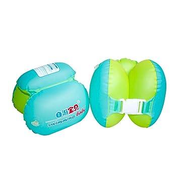 Coocle Flotador (Baby, 36102 Baby Float Flotador Infantil bebé just4baby, 36102 Baby Nadar natación Anillo Niños, Unisex bebé, Verde, 180x200mm: Amazon.es: ...