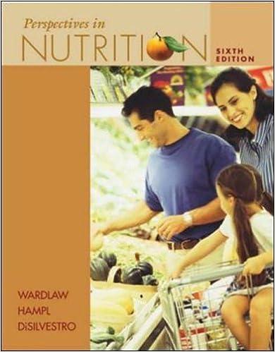 Ebooks gratuits à télécharger en anglais Perspectives in Nutrition by Gordon M. Wardlaw (2003-06-30) B01K2RM6BQ PDF