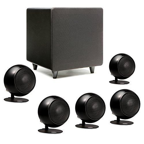 Orb Audio Mini 5.1 Home Theater Speaker System (Black)