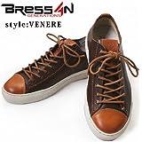 BRESSAN(ブレッサン) BRESSAN【ブレッサン】 VENERE シューズ 靴 スニーカー レザー カジュアルシューズ(VENERE) size 40(約26.0cm)