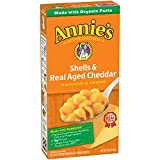 Annie's Homegrown Shells & Real Aged Cheddar Macaroni & Cheese Box, 6 oz