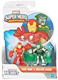 Marvel Super Hero Adventures 2 Pack Iron Man And Dr. Doom